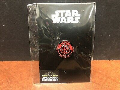Star Wars Celebration 2019 Darth Maul Pin EM4149 | eBay