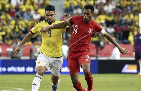 La selección peruana mantiene una amplia ventaja ante la tricolor por el torneo continental. Perú vs. Colombia: Transmisión EN VIVO por TV, radio y online