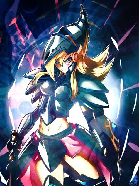 Wallpaper Dark Magician Girl The Dragon Knight By Igorbmaciel On Deviantart