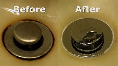 how to remove rust stains from sink removing a rust stain from a sink youtube