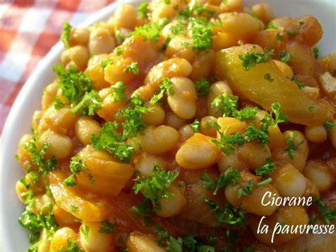 recettes haricots blancs conserve