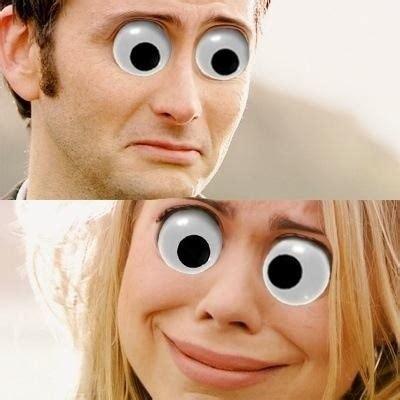 Googly Eyes Meme - doctor who googly eyes doctor who pok 233 mon go cheezburger