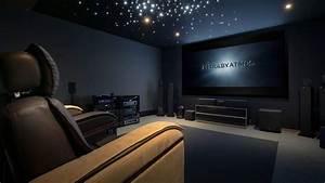 Cinema A La Maison : cr ation d 39 une salle de cin ma d di e en 7 jours youtube ~ Louise-bijoux.com Idées de Décoration