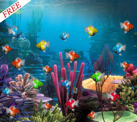 Free Animated Aquarium Desktop Wallpaper For Windows 7 - live aquarium wallpaper windows 7 wallpapersafari