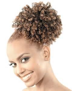 Curly Afro Puff Drawstring Ponytail