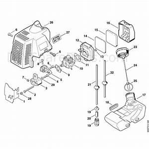 Stihl Fc 72 Edger  Fc 72  Parts Diagram  D