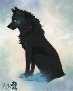 Turquoise Anime Male Wolf Furry