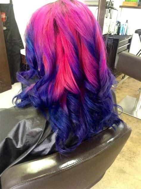 Long Hair In Manic Panic Fuschia Shock Hair Colors Ideas