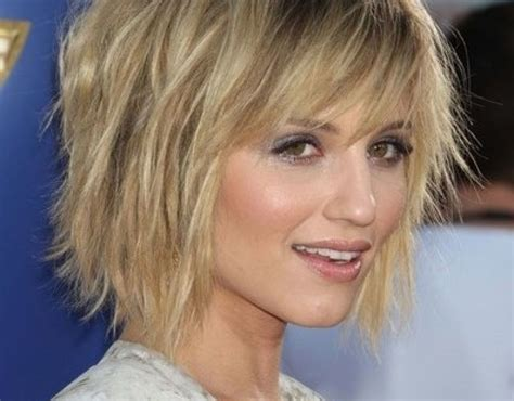 short  medium layered hairstyles  fine hair