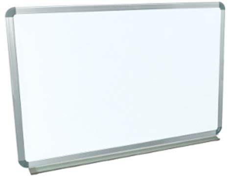 Luxor Wall Mounted Large Whiteboard, Wall Mount Whiteboard