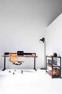 Harkavy Furniture Creates Modern Walnut & Steel Office ...