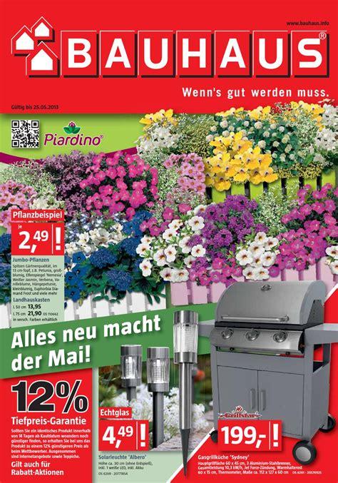 Bauhaus Pflanzen Angebote by Bauhaus Angebote 29 April 25 Mai 2013 By Promoprospekte De