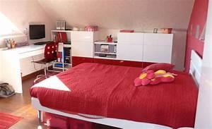 bricolage et deco fille pour chambre ado aux couleurs With chambre blanche et rouge