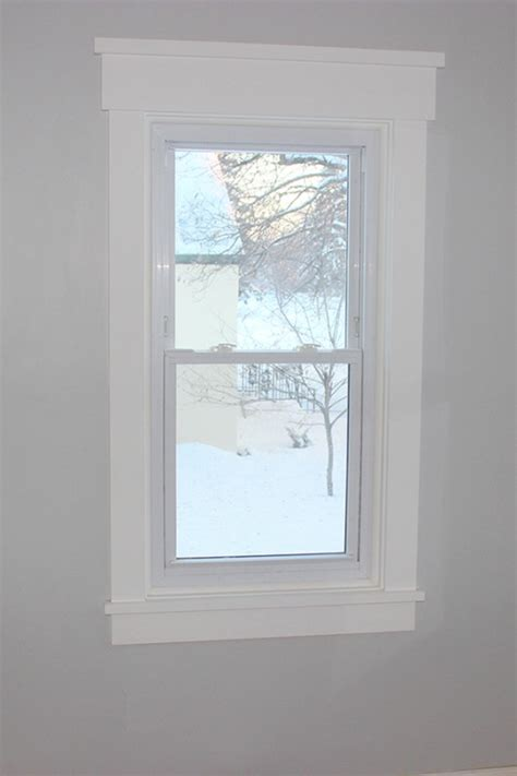 Thrifty Decor Window Trim by Remodelaholic How To Frame A Window Tutorials Tips