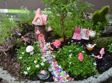 Reizvollen Mini Garten Kreieren