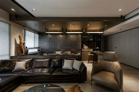 guys home interiors and wood a masculine interior