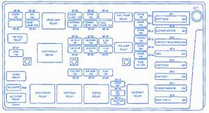 Daewoo Kalos 2005 Fuse Box  Block Circuit Breaker Diagram