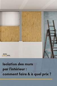 Étanchéité Mur Enterré Par L Intérieur : isolation des murs par l 39 int rieur comment faire ~ Farleysfitness.com Idées de Décoration