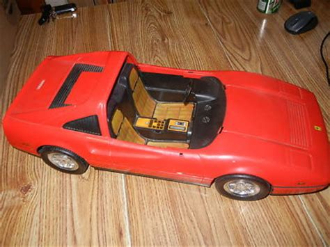 barbie red cars vintage 1986 barbie ferrari doll car red toy mattel old