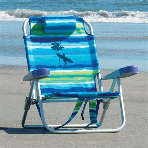 kirkland signature backpack beach chair  blue  green