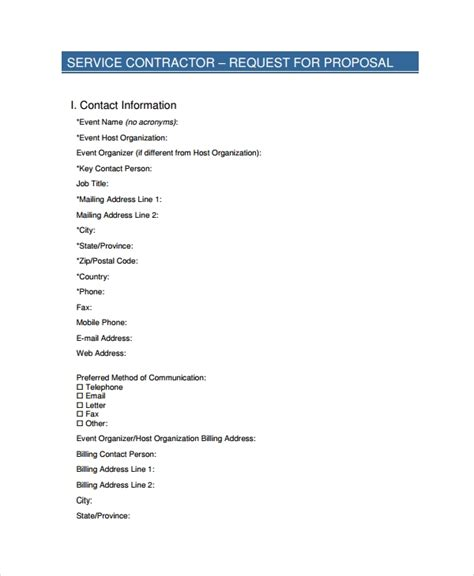 service proposal templates word  apple pages