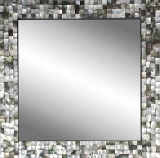 black mother  pearl mirror contemporary wall mirrors
