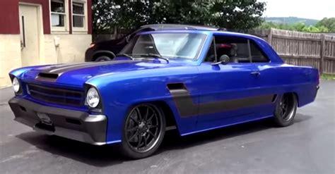awesome 1966 chevrolet ii custom street machine hot cars