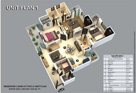 3 Bhk Flats In Greater Noida  3 Bhk Residential Flats In