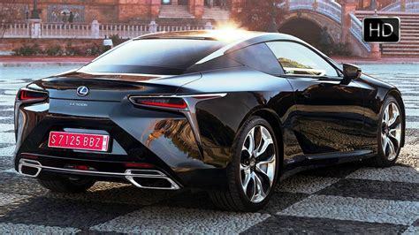 lexus lc  hybrid coupe extertior interior