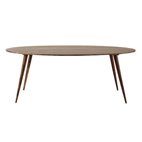 chambre en bois massif table ovale de salle à manger en bois de sheesham massif l