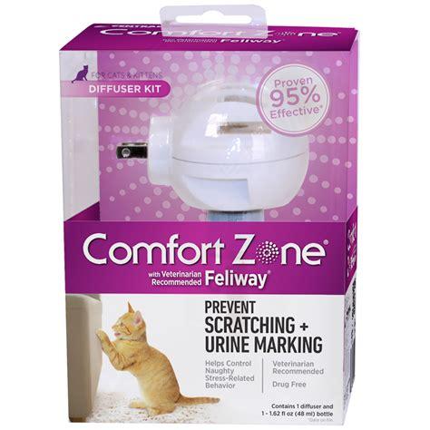 comfort zone feliway comfort zone with feliway diffuser 48 ml