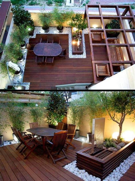 Kleinen Garten Modern Gestalten die besten 25 terrasse gestalten ideen auf
