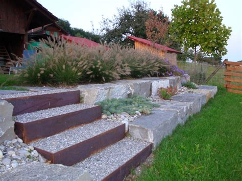 Gartenideen Für Schmale Gärten by Treppen Im Garten Yasiflor Gartenbau