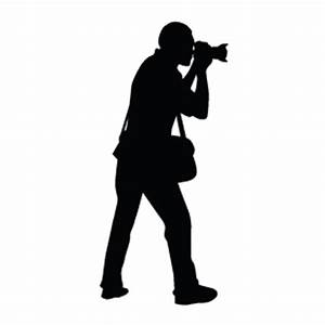 Photographer Silhouettes | Silhouettes of Photographer