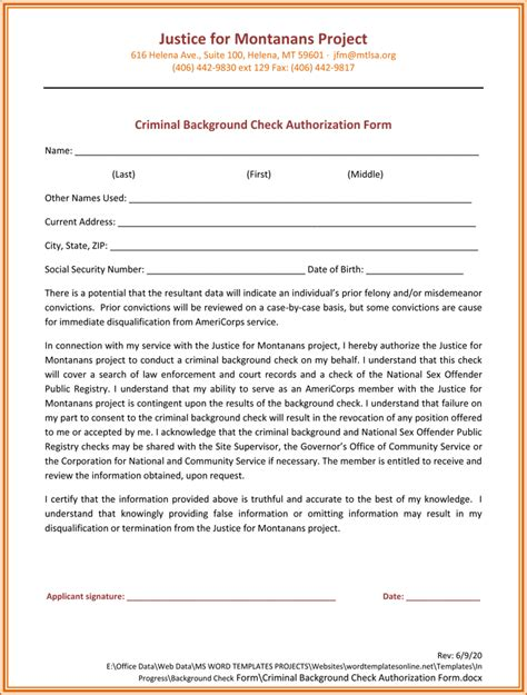 22123 background check consent forms background check authorization form 5 printable sles