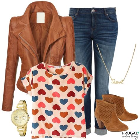 Frugal Fashion Friday Casual Valentineu0026#39;s Day Outfit