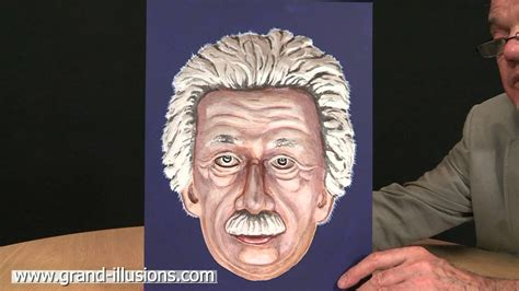 Psychologists and other scientists have found the hollow face illusion a valuable tool to examine the relationships between perception and knowledge. Painted Einstein Hollow Face Illusion - The Mind Voyager