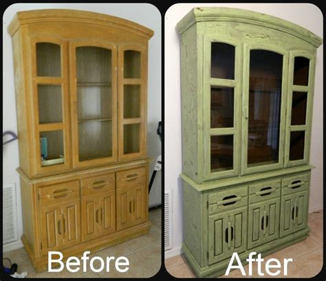 refinished china cabinet i refinished my china cabinet i did a faux crackle