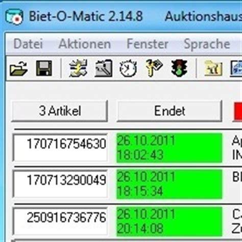 Bid O Matic by Biet O Matic Kostenlos Chip