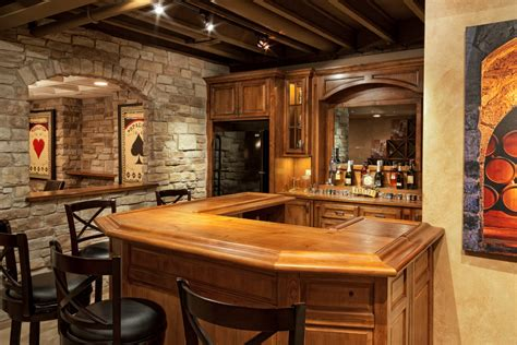 Rustic Bar Ideas by Rustic Cave Bar Ideas Family Room Traditional With