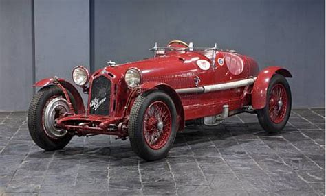 Raplh Lauren Owns An Alfa Romeo Monza 8c 2300