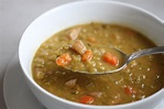 Split Pea Soup with Smoked Ham - Hypothyroid Chef
