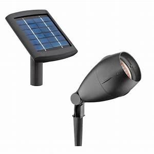 Malibu solar cast aluminum flood light and remote panel