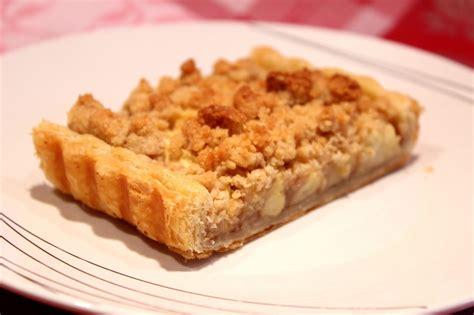 cuisiner les lentilles corail tarte aux pommes à la crème de marron et crumble pour ceux qui aiment cuisiner