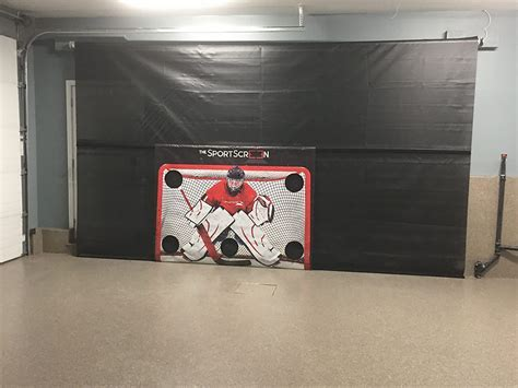Garage Living Calgary Donates SportScreen Garage Door