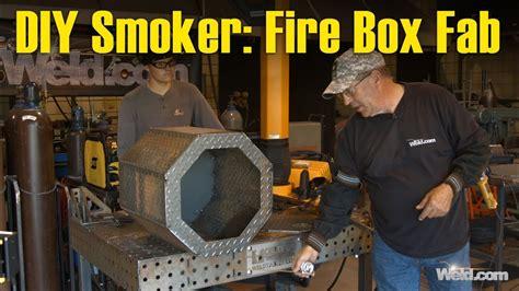 diy smoker project part  fabricating  fire box youtube