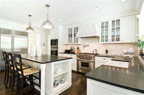 kitchen island with 4 stools htons style kitchen style kitchen york