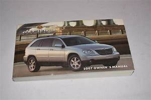 2007 Chrysler Pacifica Owners Manual Guide Book Oem