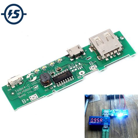 Power Supply 5v 2a By E Support 5v 1a power bank charger board charging circuit pcb board