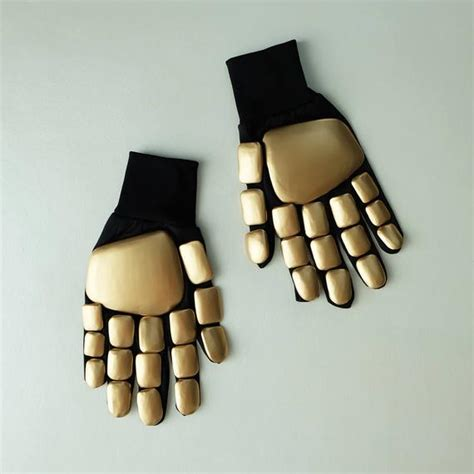 1:1 Scale Halloween Costume Prop DJ Guy Daft Punk Gloves ...